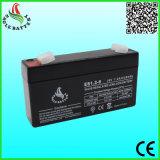 6V 1.2ah 20hrの電灯のための再充電可能な鉛酸蓄電池