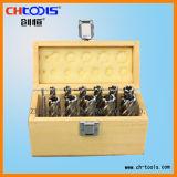 Режущий инструмент с деревянной коробке HSS кольцевой Cutter Set: (DNHX)