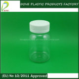130ml Pet Clear Plastic Capsule/Pill/Tablet Bottle