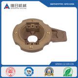 Bâti de cuivre fait sur commande en métal de précision de plat de cuivre de bâti