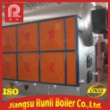 Chaudière à vapeur industrielle d'eau chaude avec la grille à chaînes (DZL)