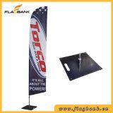 Bandierina portatile della piuma di stampa di alluminio di Digitahi di mostra/bandierina della lamierina