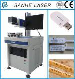 Máquina de la marca del laser del CO2 de la exportación de China y plástico/máquina de grabado calientes