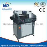 Автомат для резки резца профессионального изготовления бумажный (WD-4908S) гидровлический бумажный