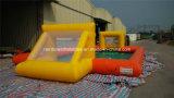 Campo de fútbol inflable de la venta caliente, patio inflable del deporte