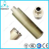"""스레드 1 1/4 """" Concrete를 위한 Unc Diamond Core Drill Bit"""