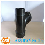 3 * 3 * 2 pouces Taille ABS Dwv Fitting Reducant Sanitary Tee