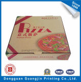 Nach Maß buntes Papier-gewölbter Pizza-Kasten