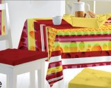 Tablecloth barato material Oilproof do PVC, caraterística impermeável