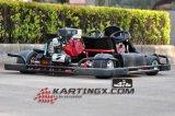 168f、200cc、4stoke、ぬれたクラッチシステム競争シートGc2005の6.5HPはハイドロリックブレーキが付いているKartsの二重行く