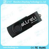 Presente relativo à promoção quente toda a movimentação preta do USB da torção 8GB (ZYF1812)