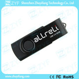 Regalo promocional caliente Todo Negro torcedura 8 GB USB Drive (ZYF1812)