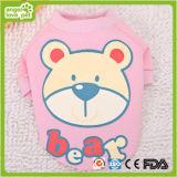 Maglione puro dell'animale domestico dell'orso del cotone di due colori (HN-PC801)