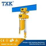 2 سلسلة طن الكهربائية رافعة / سلسلة الرافعة مع عربة الكهربائية / مفرد أو مزدوج سرعة رافعة (SSDHL02-01)