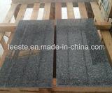 Tuile foncée neuve de pierre de granit de G654 Padang, granit gris