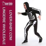 Bodysuit van het Skelet van mensen het Kostuum van Halloween (L15344)