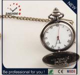 Relógio rápido da caixa da liga do relógio Pocket de relógio do presente do transporte (DC-228)