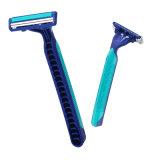Doppelgelenk HauptDiposable des schaufel-Blau-2, das Rasiermesser (JG-T805, rasiert)