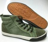 Form-Segeltuch vulkanisierte Schuhe für Männer (SNC-240003) Mittler-Schneiden