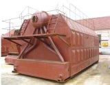 Chaudière à vapeur allumée par bois industriel de tube d'incendie de l'eau