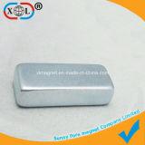 Unterschiedliches Größen-Zink-Beschichtung-Viereck Dauermagnet