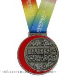 Kundenspezifische populäre Einteilungs-Vereinsmitglied-Medaille mit antikem Messingüberzug