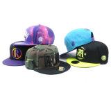 Sombreros de encargo del Snapback del sombrero del Snapback del nuevo diseño/del casquillo/completamente de Bill del Snapback de Hip Hop del sombrero y