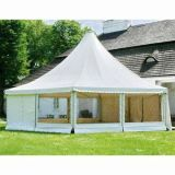 De hoogste Tent van de Pagode van het Frame van het Aluminium van de Tuin van de Verkoop Openlucht met de Deur van het Glas