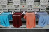 4 Kopf-Stickerei-Maschine für Schutzkappen-T-Shirt und flache Stickerei