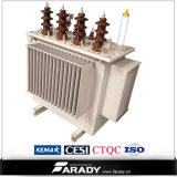 三相Oil Immersed Distribution 30 KVA 20kv Step up Transformer