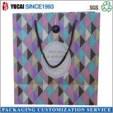 Saco de empacotamento de papel recentemente projetado da venda quente