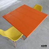 Tabela de jantar de superfície contínua moderna da mobília do restaurante (T1610019)