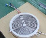 modelo dual Sm-Dic13b1 del anillo de la cocina infrarroja de las hornillas del vidrio dos de 730*430m m Schott
