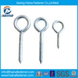 Eye galvanisé Bolt avec Wood Screw/HDG Hex Flanged Wood/Lag Screw/Color Zinc Plated Wood Screw