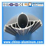 Теплоотвод круглой формы OEM анодированный AA6063-T5 алюминиевый