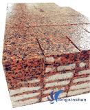 Естественный подгонянный гранит красного цвета клена G562