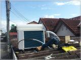 Plancher tenant le climatiseur solaire