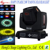 Discoのための熱いSelling 230W Sharpy 7r Beam Moving Head Lighting