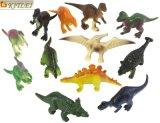 プラスチック恐竜PVC昇進のための動物のおもちゃ図