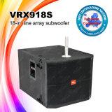 Линия диктор Subwoofer неодимия наивысшей мощности Vrx918s блока