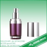 15ml Luxury Acrylic Cosmetic Packaging Airless Bottle per Lotion/Cream