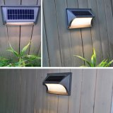 5 luces solares al aire libre montadas en la pared decorativas del LED impermeables