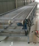 Transportador de correa de cadena del acoplamiento usado en línea de la transformación de los alimentos o cadena de producción como usted requiere