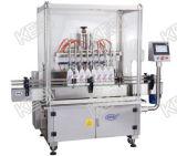 Máquina de enchimento líquida do frasco automático, enchimento do champô, enchimento detergente