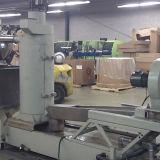 Sj160 solo tornillo de extrusión para película PP PE Copos de reciclaje de peletización Máquina