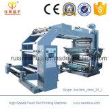 3 Farben-flexographische Plastik-Polyester-Film-Drucken-Maschine