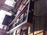 Topbright starke Außenfalz-Tür für Shopfront mit niedrigem e-Glas