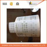 Etiqueta del servicio del OEM de la impresión personalizada autoadhesivo Promoción Regalo de la pegatina