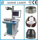 Máquina quente da marcação do laser da fibra da venda 20W para escudos móveis