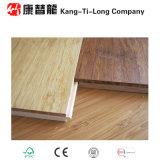 Plancher en bambou tissé par rive machiné avec le noyau de HDF